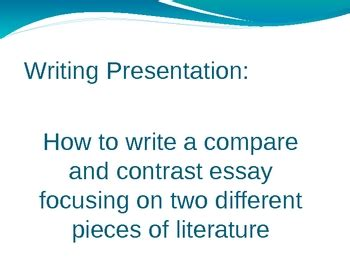 How to Write a Literary Analysis That Works - Kibin Blog